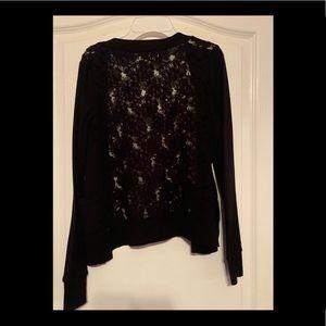 Garage Sweaters - GARAGE | Lace Cardigan